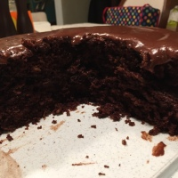 Chocolate Sourdough Cake