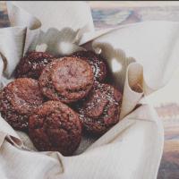 V-Day Banana & Oat Choco Muffins