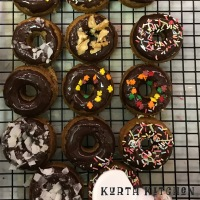 Chocolate donuts cure the world!